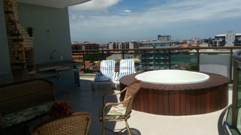 Excelente cobertura duplex em Cabo Frio