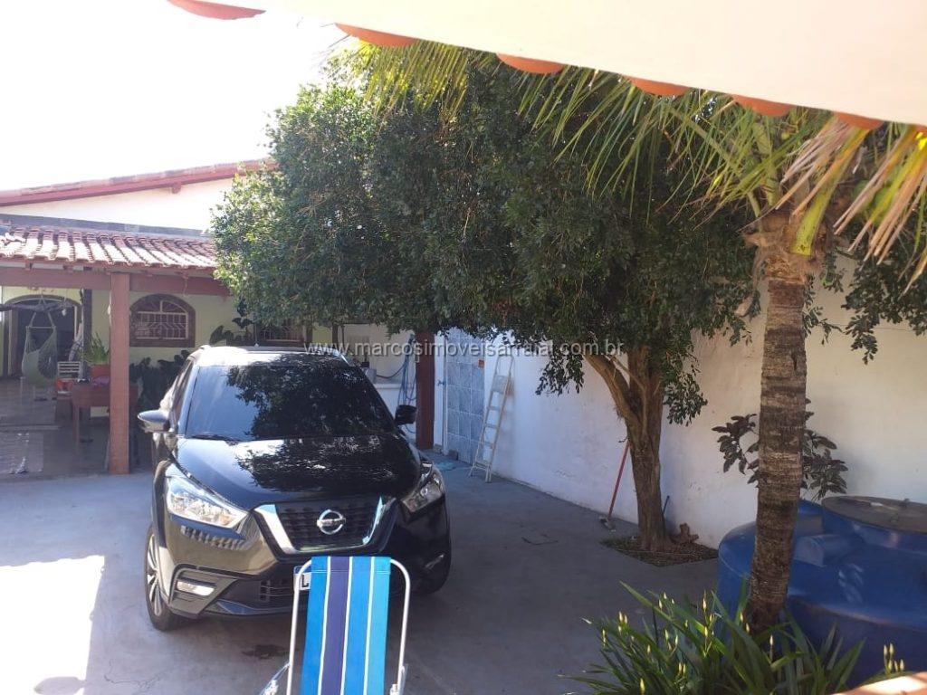 Linda casa mobiliada com quintal em Monte Alto, Arraial do Cabo.